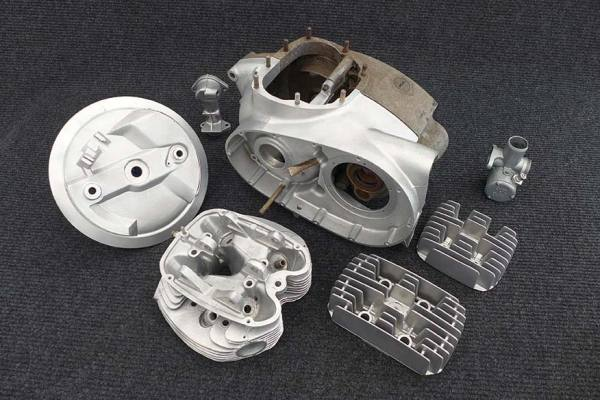 Motorcycle Engine Components Set