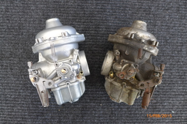 BMW Bing carbs